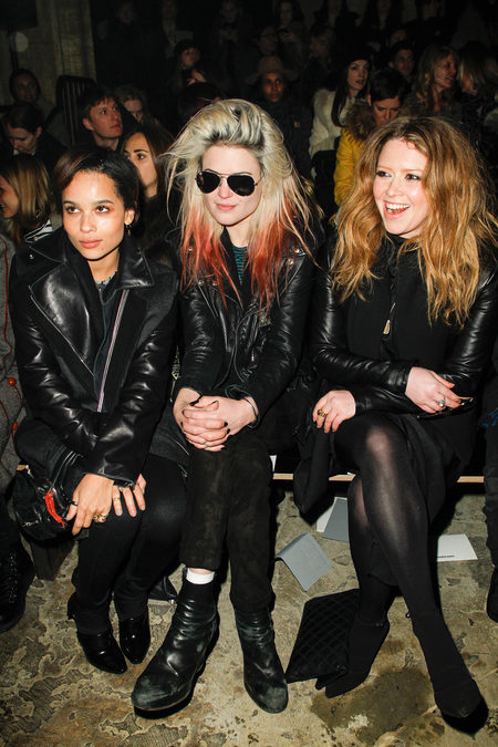 Front row alexander wang fall 2013