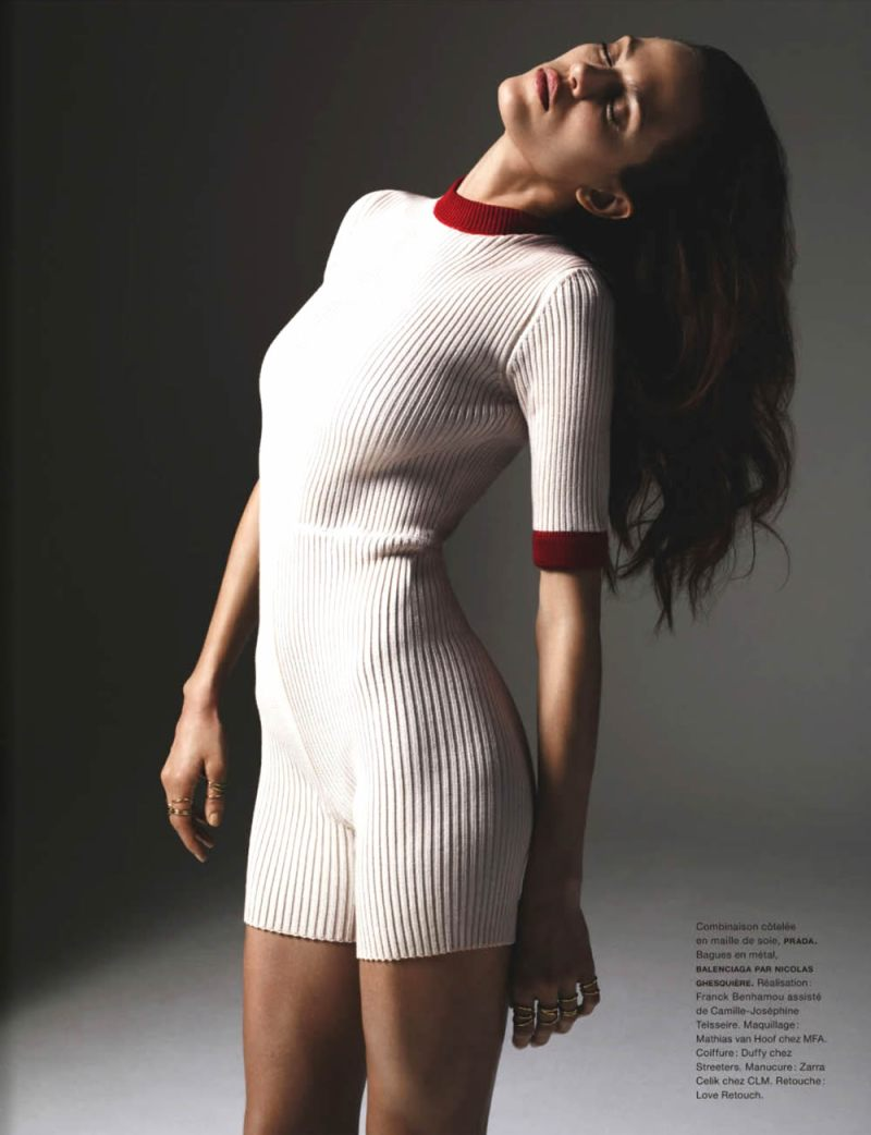 Aymeline Valade By Richard Bush For Numéro