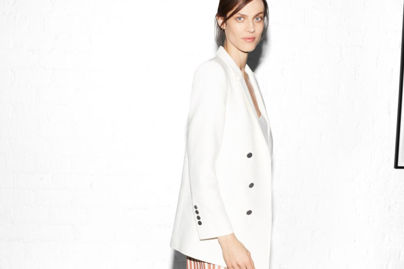 Aymeline Valade For Zara's April Lookbook