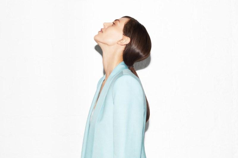 Aymeline Valade For Zara's April Lookbook