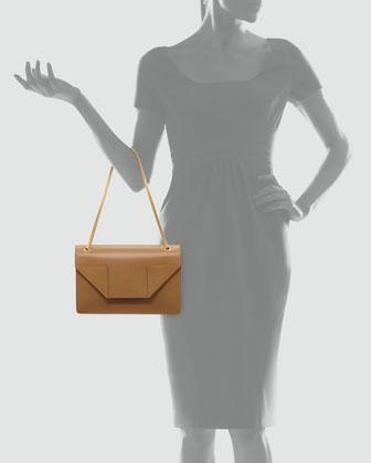Betty Medium Chain Bag, Beige-2