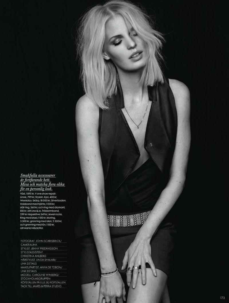 Caroline Winberg by John Scarisbrick for Elle Sweden April 2013-3
