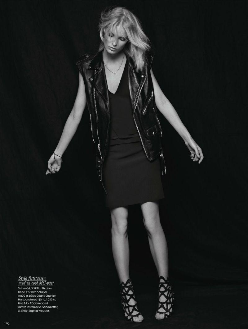 Caroline Winberg by John Scarisbrick for Elle Sweden April 2013-4