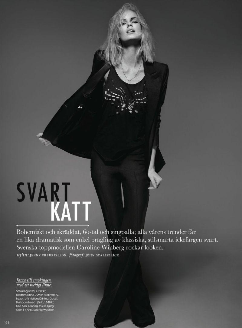 Caroline Winberg by John Scarisbrick for Elle Sweden April 2013-5