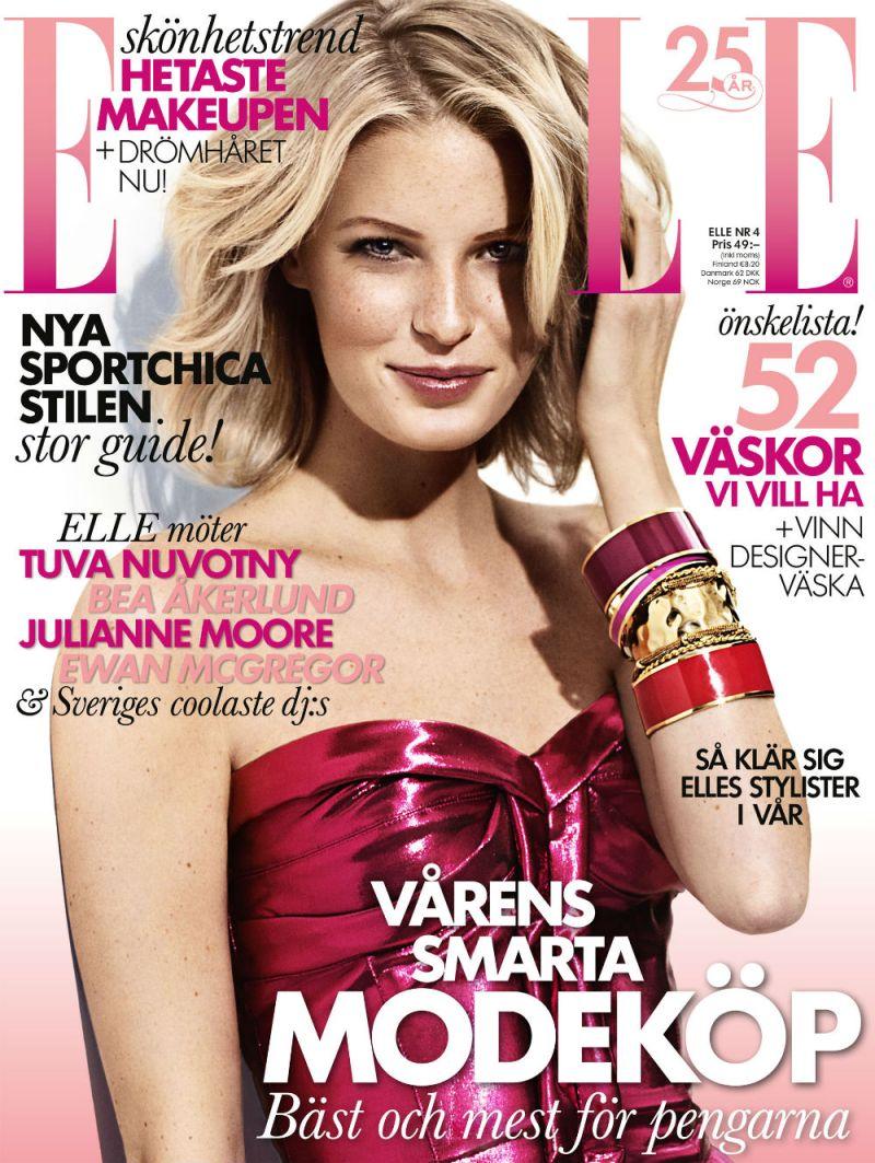 Caroline Winberg by John Scarisbrick for Elle Sweden April 2013-6