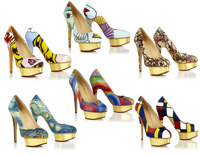 charlotte olympia shoes by Boyarde Messenger