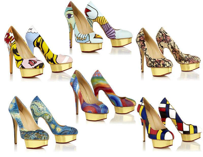 charlotte olympia shoes by Boyarde Messenger