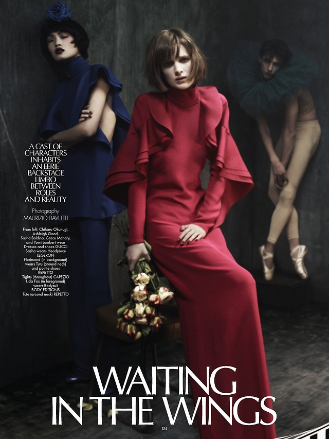CR Fashion Book : Waiting in the Wings