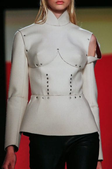 Details At Jean Paul Gaultier Fall 2013