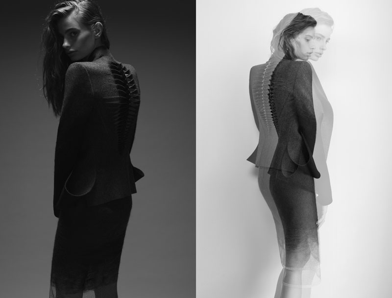 dion lee:the shape of wool -7