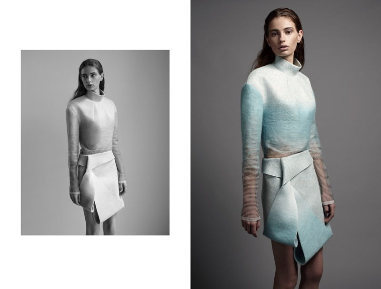 dion lee:the shape of wool -9