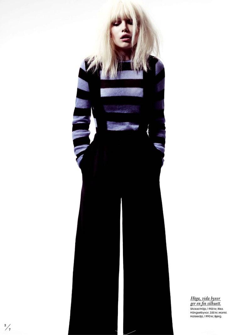 Elsa Fredriksson by Peter Gehrke for Elle Sweden April 2013-5