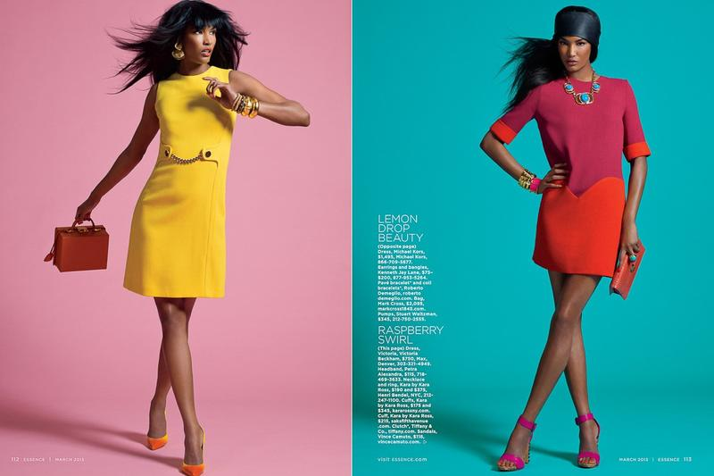 Essence Magazine - Bold Brights  -1