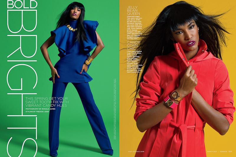 Essence Magazine - Bold Brights  -3