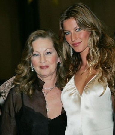 Fashion Models And Their Mums