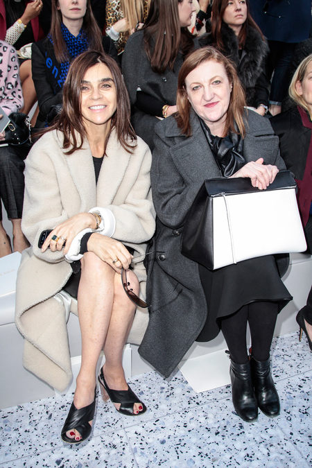 front row at chloé fall 2013-8