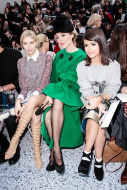 front row at chloé fall 2013-9