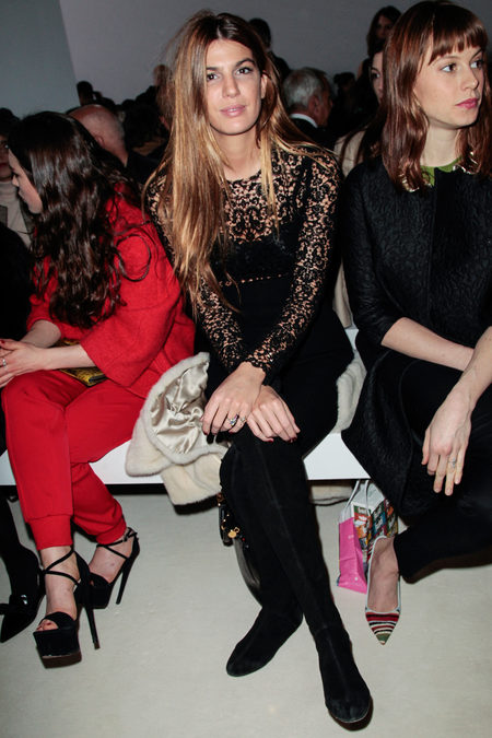 front row at giambattista valli fall 2013-1