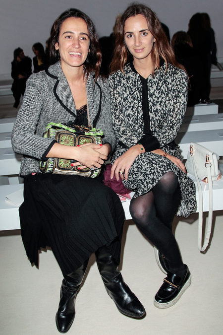 front row at giambattista valli fall 2013-9