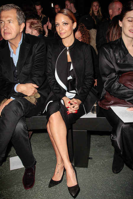 front row at givenchy fall 2013-9