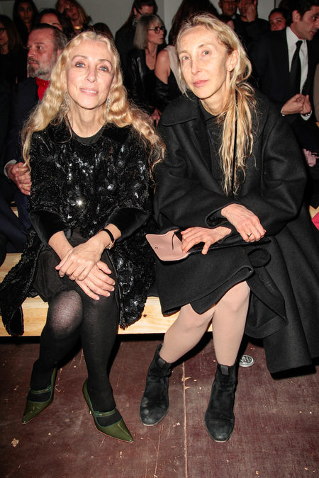 front row at saint laurent fall 2013-10
