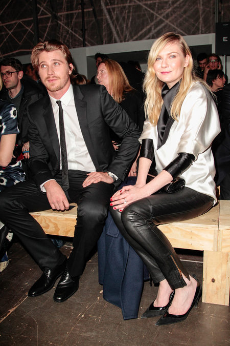 front row at saint laurent fall 2013-2