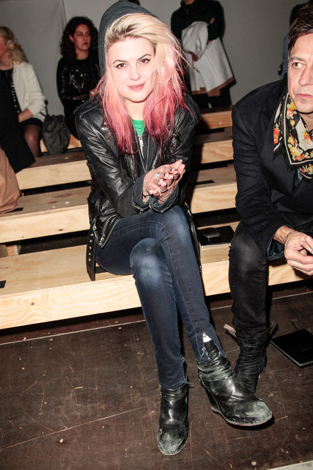 front row at saint laurent fall 2013-3