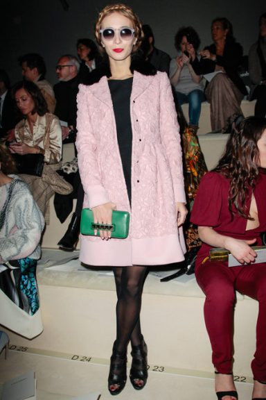 Front Row At Valentino Fall 2013-6