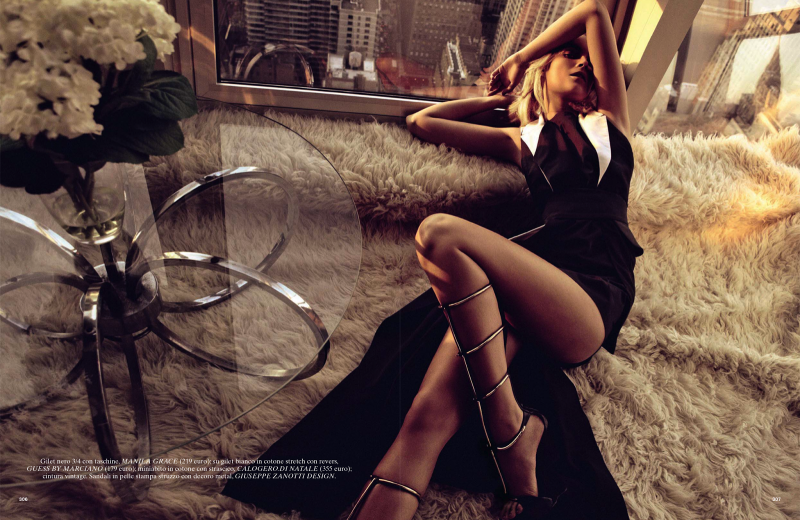 Glamour Italia : Up Town Girl