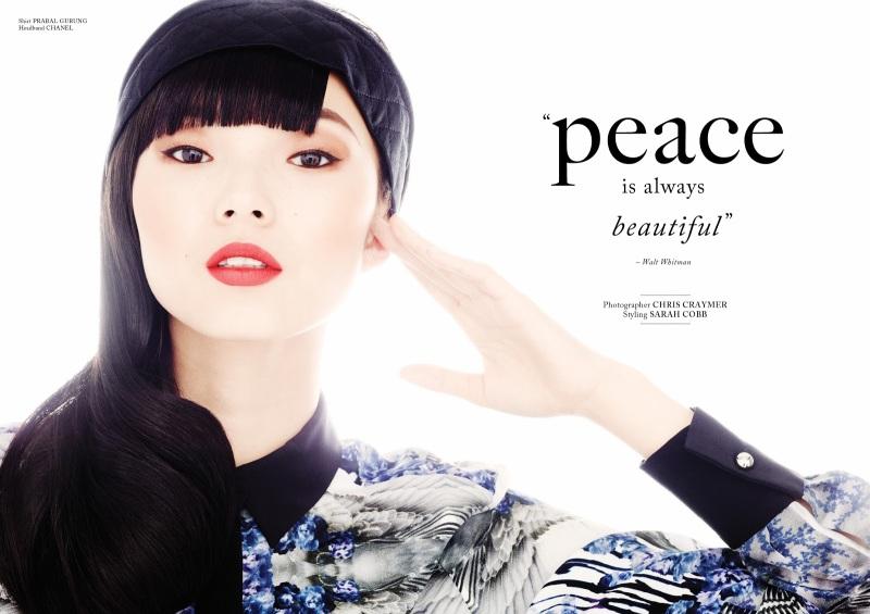 Glass Magazine : Peace Is Always Beautiful