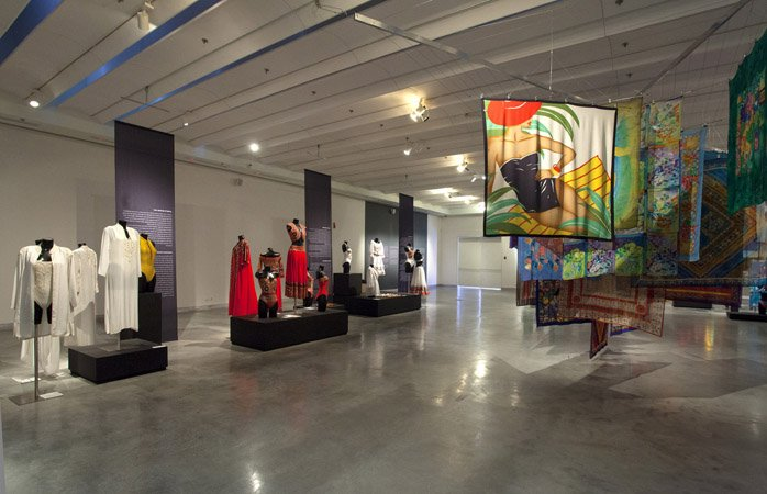 photo: Yael Engelhart Upper Gallery - From the designs of Lea Gottlieb