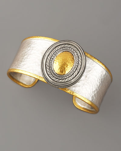 Gurhan Cavalier Mixed Metal Cuff
