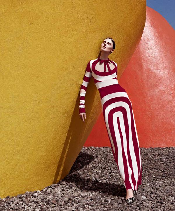 Harper's Bazaar Mexico : Linear Trace