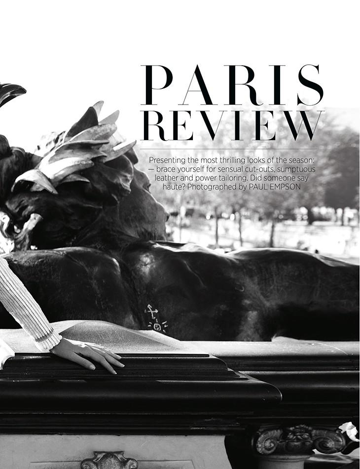 Harper's Bazaar Australia : Paris Review