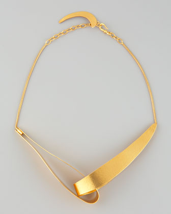 Herve Van Der Straeten Virgules Necklace