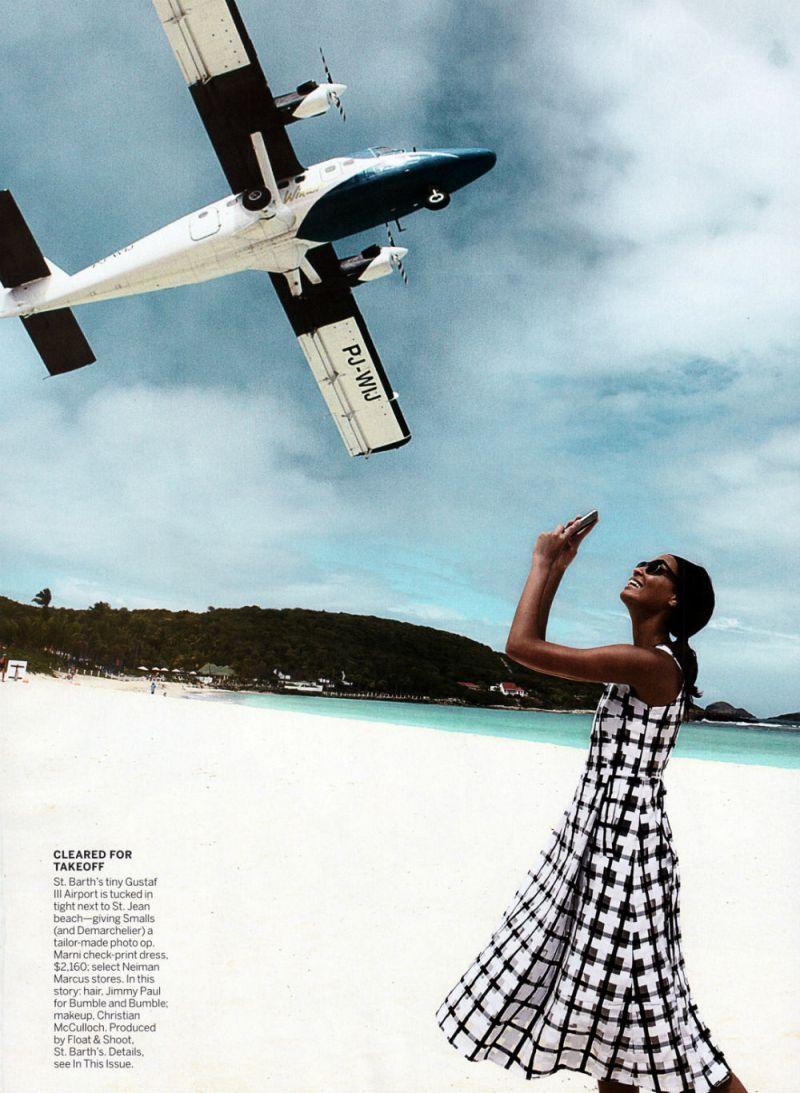 Joan Smalls by Patrick Demarchelier for Vogue US April 2013-2