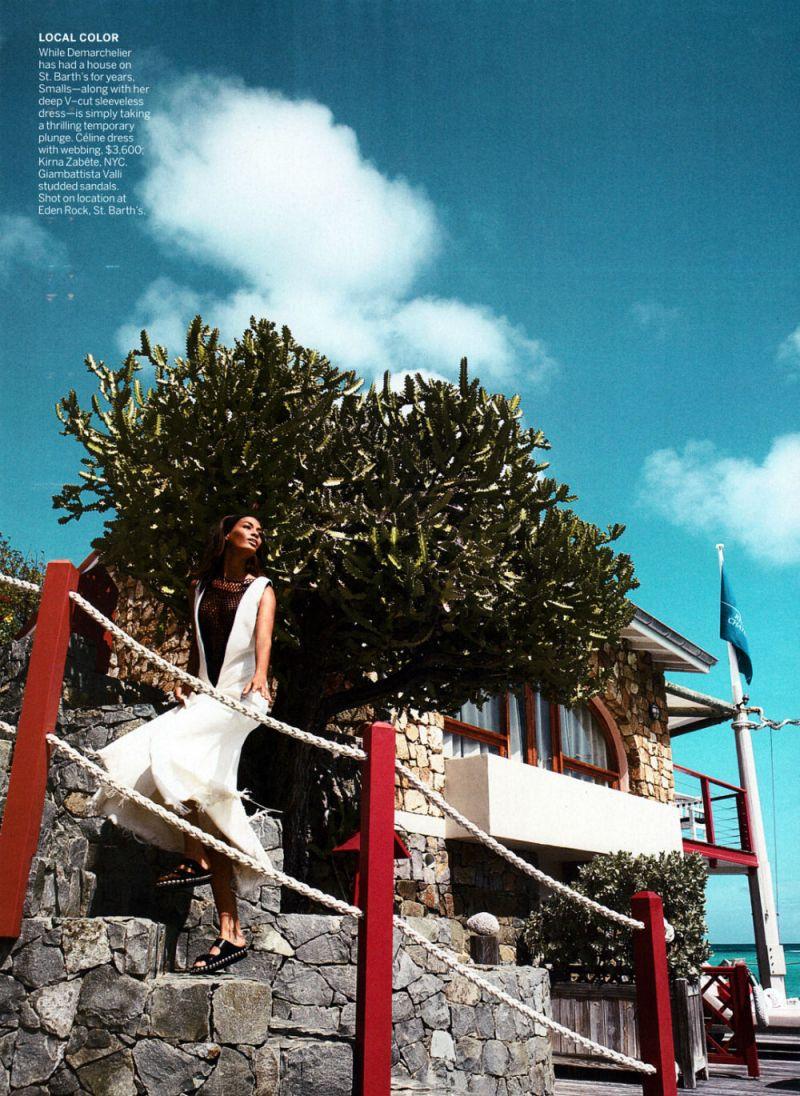 Joan Smalls by Patrick Demarchelier for Vogue US April 2013-5