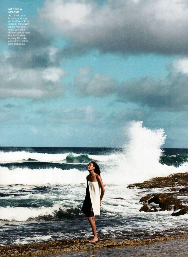 Joan Smalls by Patrick Demarchelier for Vogue US April 2013-8