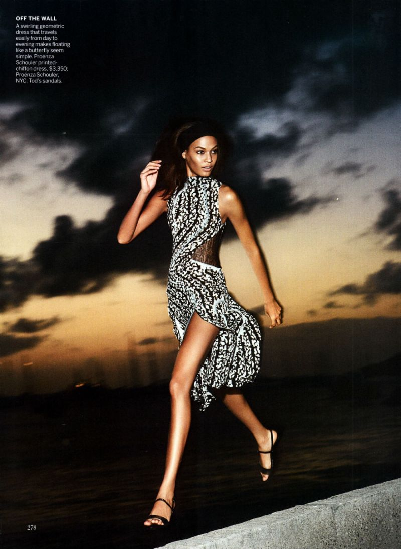 Joan Smalls by Patrick Demarchelier for Vogue US April 2013