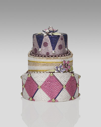 Judith Leiber Cake Clutch