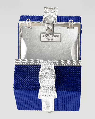 Judith Leiber Crystal Cube Gift Clutch Bag-1