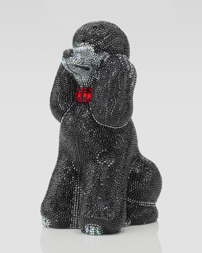 Judith Leiber French Poodle Minaudiere