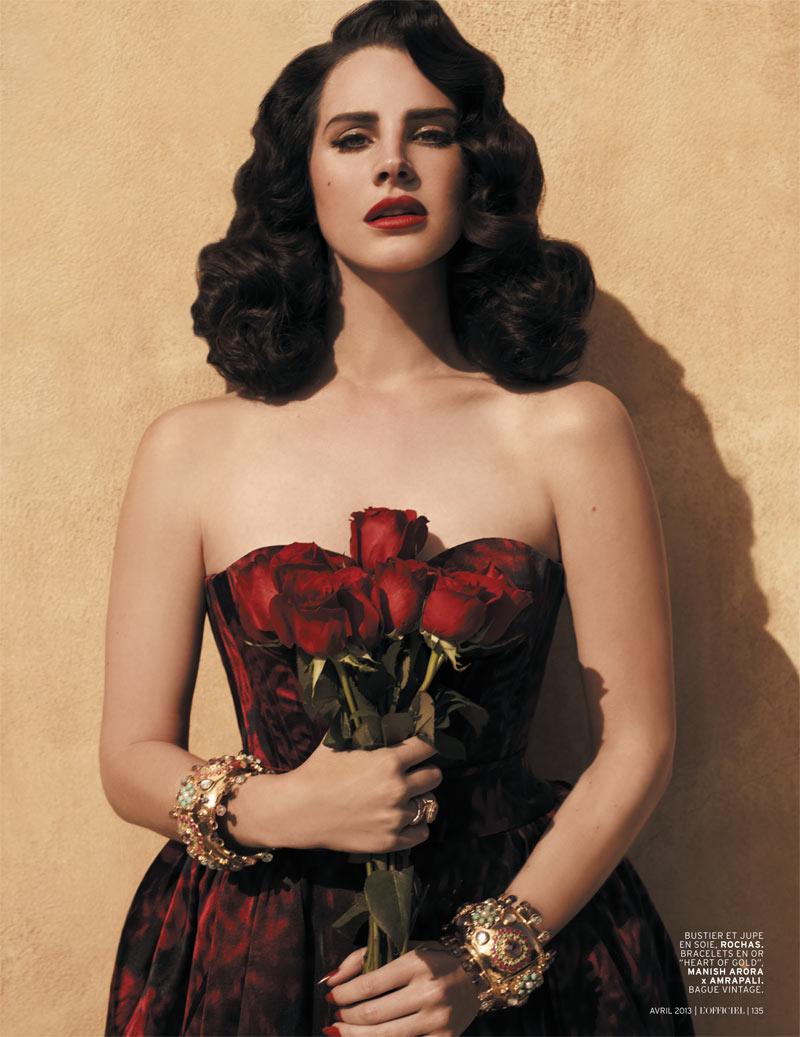 Lana Del Rey For L'Officiel Paris