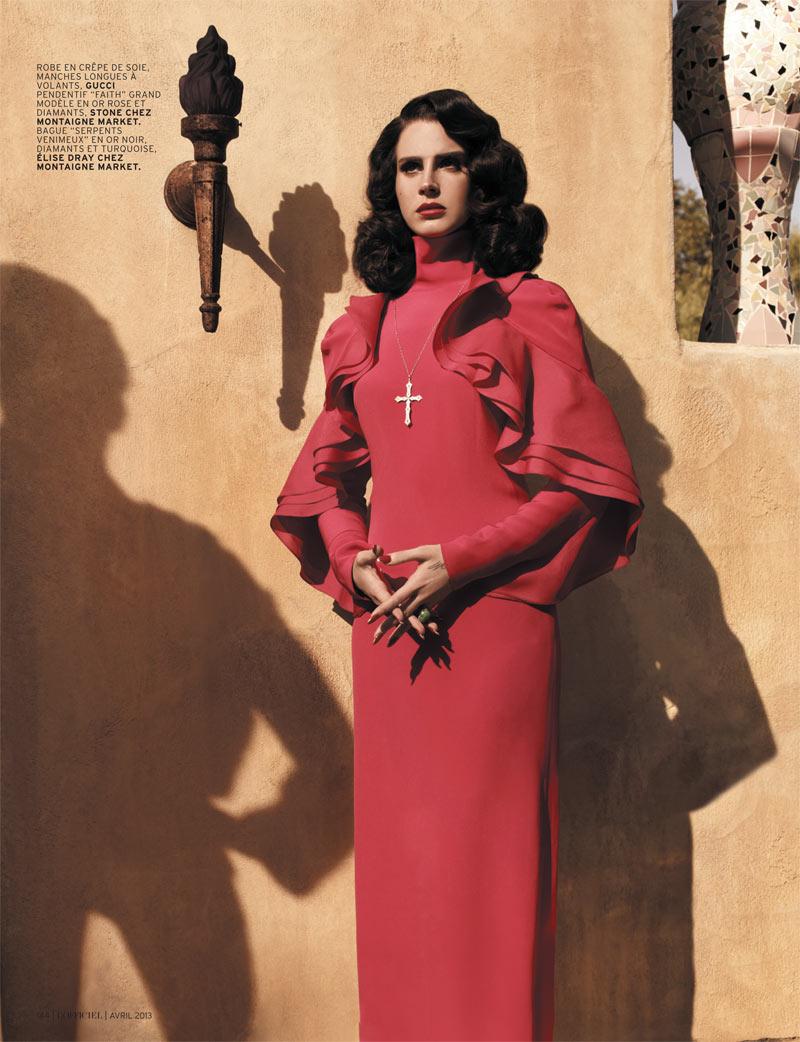 Lana Del Rey Is Rosalita For L Officiel Paris The Citizens Of Fashion