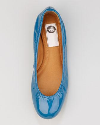 Lanvin Patent Leather Ballerina Flat-1