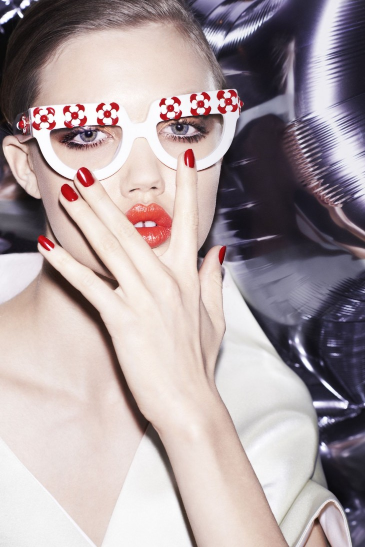 Lindsey Wixson For Vogue China Collections Spring:Summer 2013-2