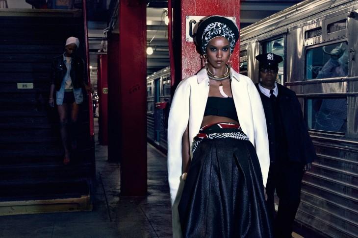 Liya Kebede for Vogue Japan April 2013 by Mikael Jansson
