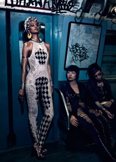 Liya Kebede for Vogue Japan April 2013 by Mikael Jansson