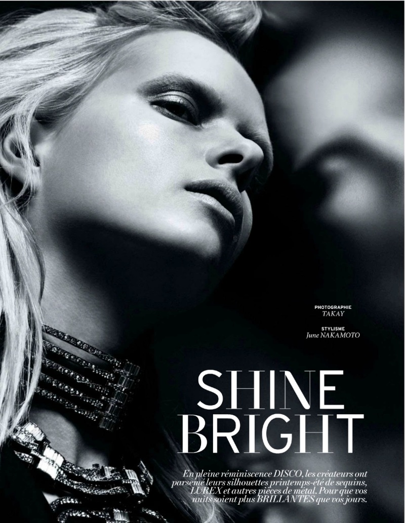 L'Officiel : Shine Bright