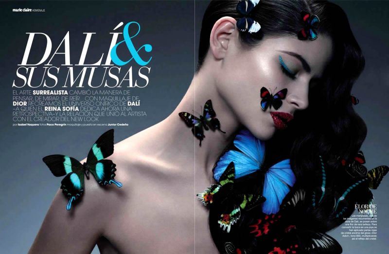Marie Claire Spain : Dali & Sus Musas (Dali & His Muse)